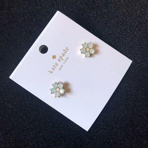 Kate Spade Floral Opal Earrings